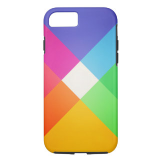 Modern Colorful Geometric Abstract Pattern iPhone 7 Case