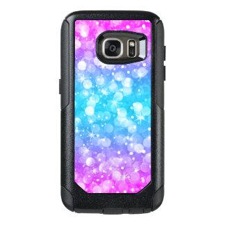 Modern Colorful Glam Bokeh Glitter OtterBox Samsung Galaxy S7 Case