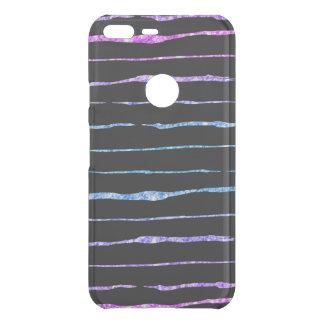 Modern Colorful Glitter Crazy Lines Pattern Uncommon Google Pixel XL Case