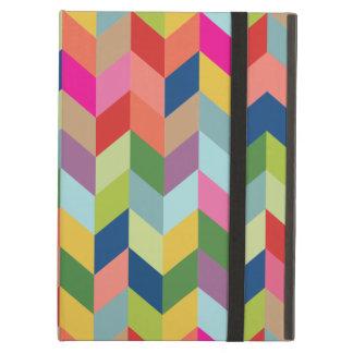 Modern Colorful Herringbone iPad Air Case