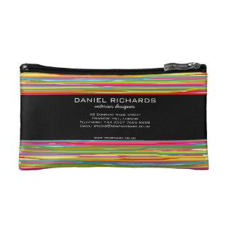 Modern Colorful Interior Designer Branding Cosmetic Bags