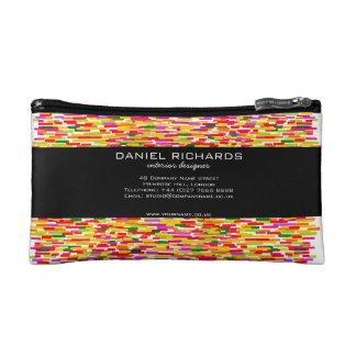 Modern Colorful Interior Designer Branding Makeup Bags