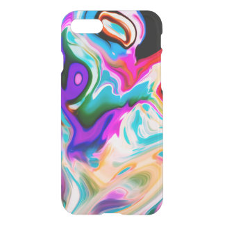 Modern Colorful Marble Swirls iPhone 8/7 Case