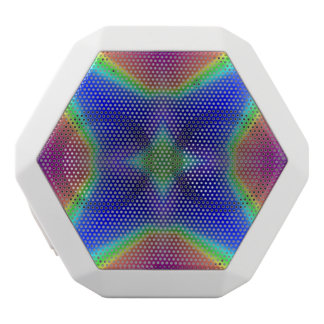 Modern colorful pattern white boombot rex bluetooth speaker