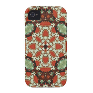 Modern colorful pattern iPhone4 case