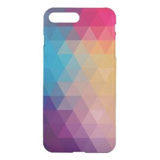 Modern Colorful Polygonal Pattern iPhone 7 Plus Case