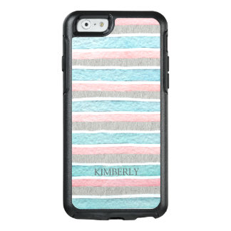 Modern Colorful Stripes OtterBox iPhone 6/6s Case