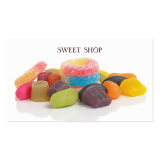 Modern Colorful Sweet Shop Pack Of Standard Business Cards