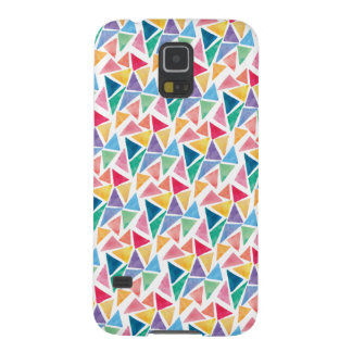 Modern Colorful Triangle Galaxy S5 Cover