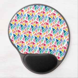 Modern Colorful Triangle Gel Mouse Pad