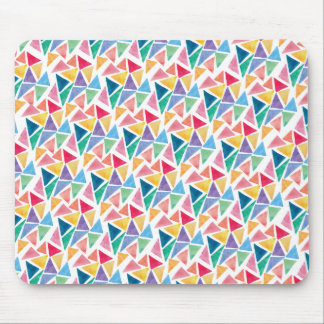Modern Colorful Triangle Mouse Pad