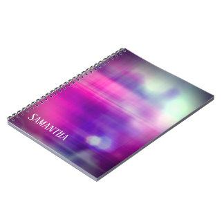 Modern Colourful Design Monogram Notebook