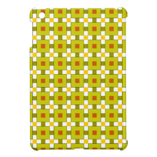 Modern Colourful Squares Pattern Cover For The iPad Mini