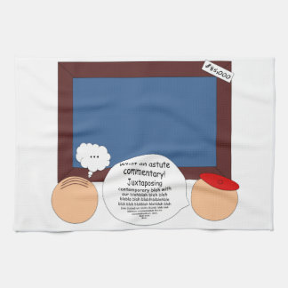 Modern Confusion Hand Towel