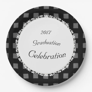 Modern-Conservative-Celebration(c)TEMPLATE 9 Inch Paper Plate