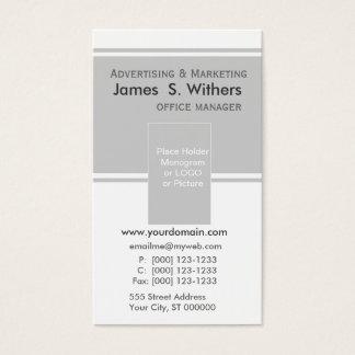 Modern Contemporary Business Design Business Card