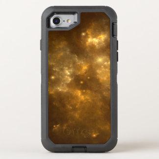 Modern Cool Beautiful Gold Nebula, Stars & Space - OtterBox Defender iPhone 8/7 Case