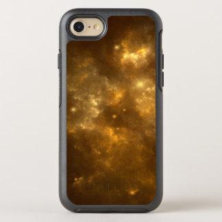 Modern Cool Beautiful Gold Nebula, Stars & Space - OtterBox Symmetry iPhone 8/7 Case
