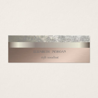 Modern Cool Elegant Professional Mini Business Card