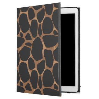 """Modern Copper Tones leopard Pattern iPad Pro 12.9"""" Case"""