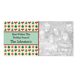 Modern Country Charm Christmas Photo Cards