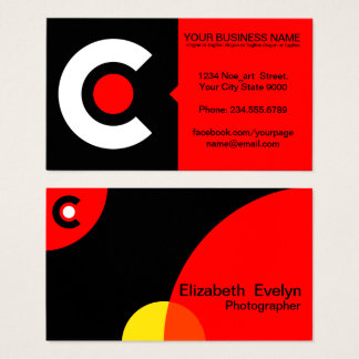 modern creative 002 business card