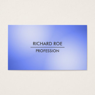 Modern Creative Professional Blue Business Cards