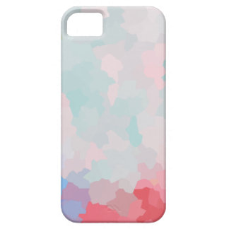 Modern Crystalized Floral Barely There iPhone 5 Case