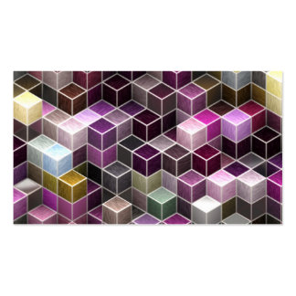 modern cubes (I) Double-Sided Standard Business Cards (Pack Of 100)