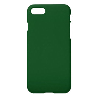 Modern Customisable Forest Green iPhone 8/7 Case