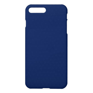 Modern Customisable Royal Navy Blue iPhone 8 Plus/7 Plus Case