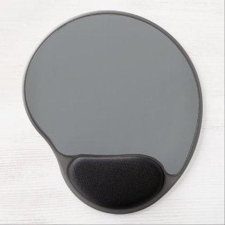 Modern Customisable Sleek Silver Gel Mouse Pad