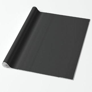 Modern Customizable Charcoal Black