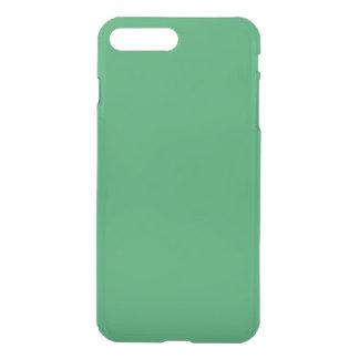 Modern Customizable Emerald Green iPhone 7 Plus Case