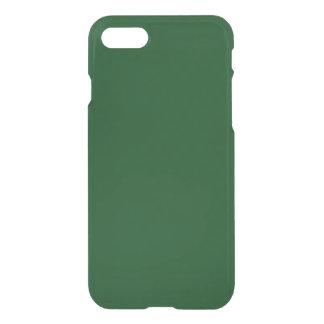 Modern Customizable Forest Green iPhone 8/7 Case