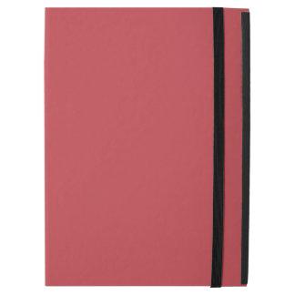 "Modern Customizable Ruby Red iPad Pro 12.9"" Case"