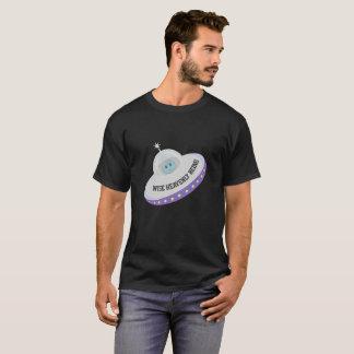 Modern Cute Flying UFO T-Shirt