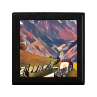 modern, dadaism,digital,painting,colorful,norway gift box