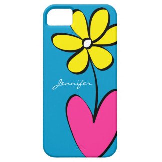 Modern Daisy Personalized iPhone 5/5S Case