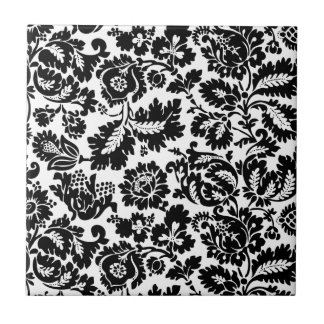 Modern Damask William Morris Ceramic Tile