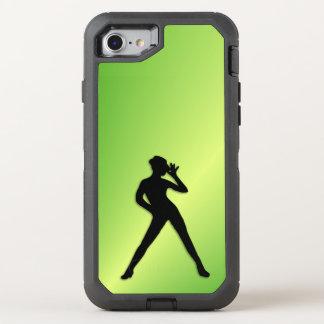 Modern Dance Green OtterBox Defender iPhone 7 Case