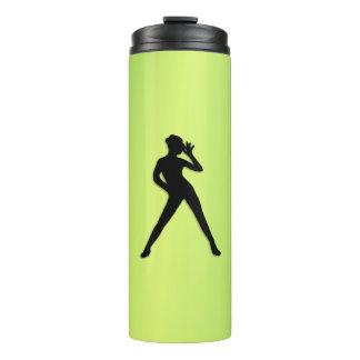 Modern Dance Green Thermal Tumbler