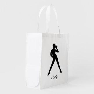 Modern Dance Reusable Grocery Bag