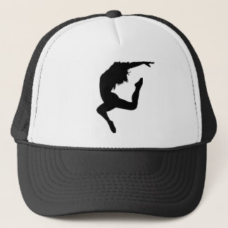 Modern dance trucker hat