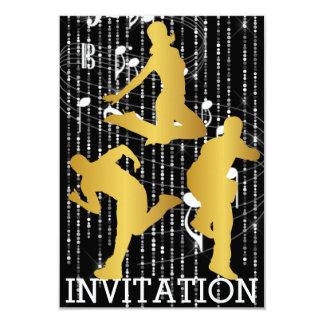 Modern Dancer Hip Hop Urban Club Vip Invitation
