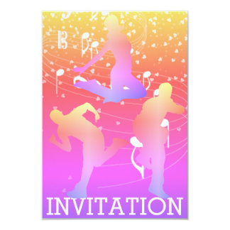 Modern Dancer Hip Hop Urban Club Vip Invitation