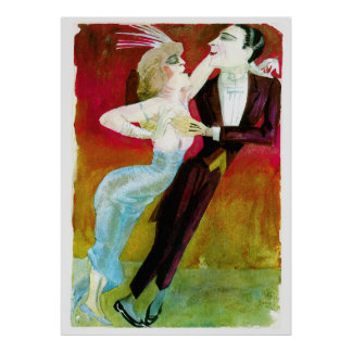 Modern Dancing Couple by Otto Dix Posters