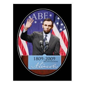 Modern Day Abraham Lincoln Postcard