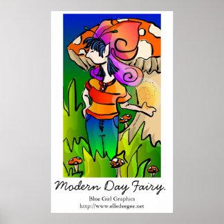 Modern Day Faerie Poster Print