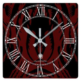 Modern Decorated Designer#15 Wall Clock Buy Online